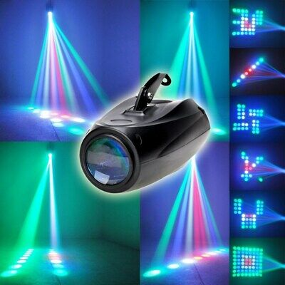 Music Active RGB LED Lights Laser Stage Effect Lighting Club Disco Party Bar CHY