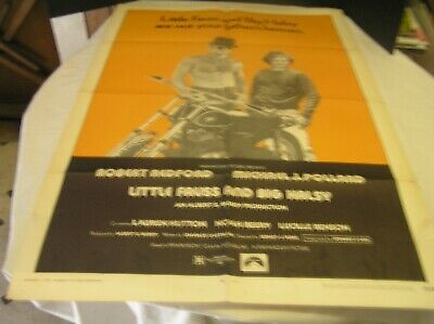Little Fauss & Big Halsy Legitimate Movie Poster 1970 (Not Your Fathers Heroes)