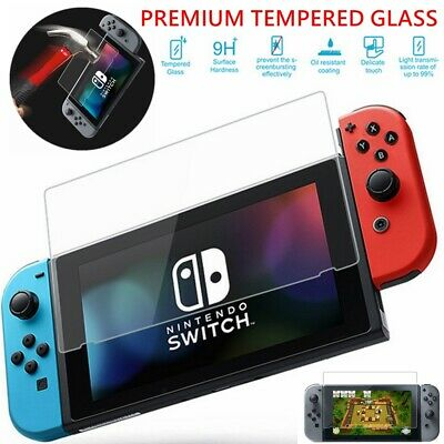 9H Tempered Glass for Nintendo Switch Premium Shockproof Screen Protector Cover