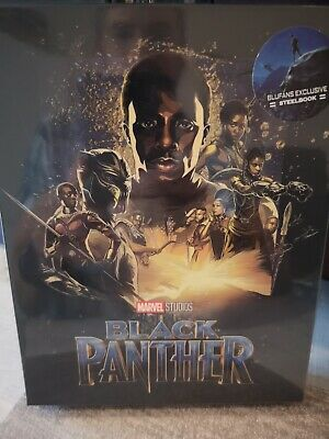 Blu Ray steelbook BLACK PANTHER BLUFANS FULL SLIP EDITION neuf sous cello