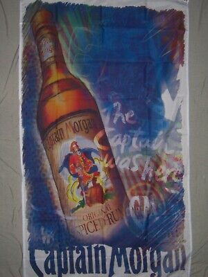 CAPTAIN MORGAN SPICED RUM FLAG NEW 3X5ft banner sign better quality usa seller