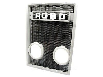 Front Grille With Lamp Holes Fits Ford 3600 4100 4600 5600 6600 7600 Tractors.