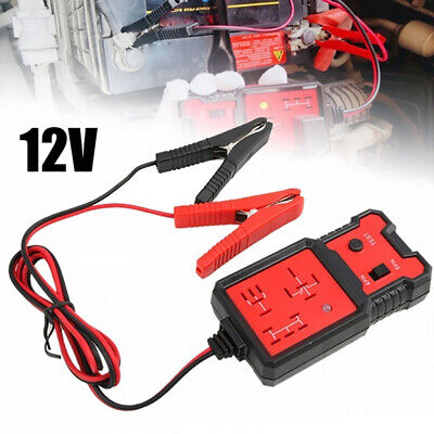 12V Electronic Automotive Relay Tester Diagnosis For Cars Auto Battery Checke ht