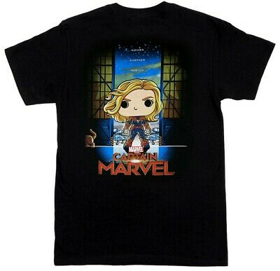Funko Pop! Tee: Captain Marvel (Collector Corps Exclusive) T-Shirt XL