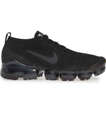 Men Nike Vapormax Flyknit 3 Triple Black *1-3 Days Shipping*