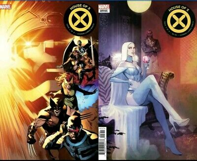 House of X #3 1:10 and Regular Cover A LOT Huddleston Variant 2019