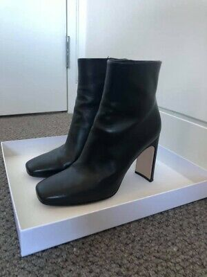 Scanlan Theodore Square Toe Ankle Boots