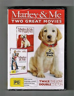 Marley & Me / Marley & Me - Puppy Years (2-Movie Collection) Dvds New & Sealed
