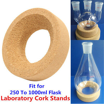 Laboratory Cork Stands Ring Mat 110x55mm Round Bottom for 250ml-1000ml Flask