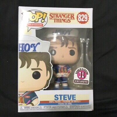 **IN HAND** Baskin Robin EXCLUSIVE Funko Pop! Stranger things Ahoy Steve 829