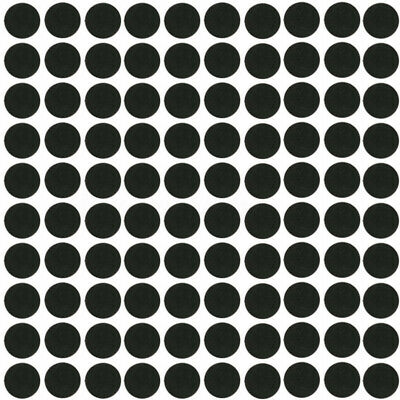 New 100 Pcs 25mm Round Bases Black Antiskid Silico Model Bases For Wargames