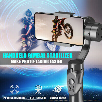 3-Axis Handheld Gimbal Stabilizer Support Motion Timelapse For Smartphone GoPro