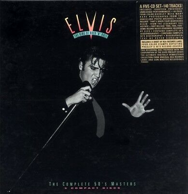 BOX 5CD Elvis Presley  – The King Of Rock 'N' Roll: The Complete 50's Masters