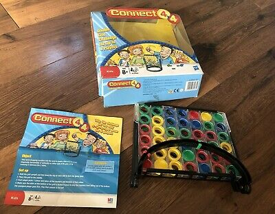 Hasbro Connect 4 DOUBLE Grid Board Game TOY Family Fun RARE Hardly Used