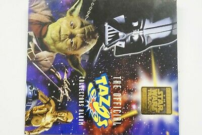 Star Wars Tazo album and complete set of 80 tazos issued  1996