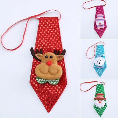 1 Pcs Christmas Cute Bow Knot Hot Adjustable Tie Gift Holiday Cat Adult Dog Pet