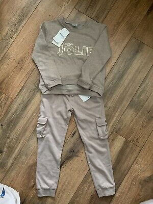 Mayoral Girls Tracksuit Joggers And Jumper Set Age 8 Years BNWT