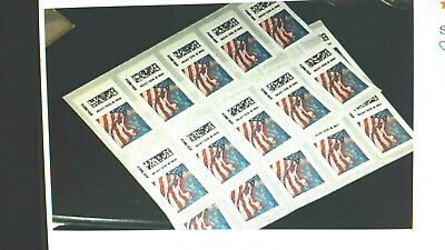 20 USPS Forever Flag Stamps 1 Book/Sheet     << $8.75 >>