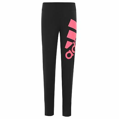 adidas Kids Girls MH BOS Tight Performance Tights Pants Trousers Bottoms