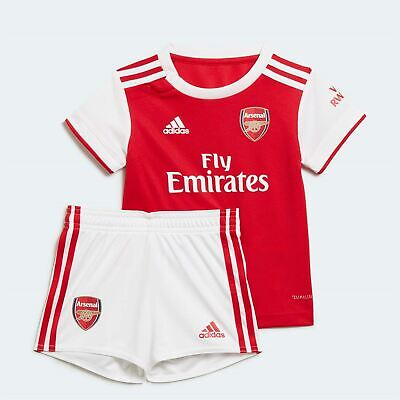 adidas Baby Kids Boys Arsenal Home Kit 2019 2020 Domestic Minikits ClimaLite