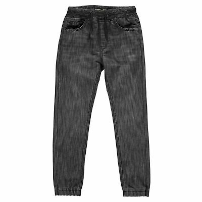 No Fear Kids Boys Dark Wash Skinny Jeans Junior Straight Pants Trousers Bottoms