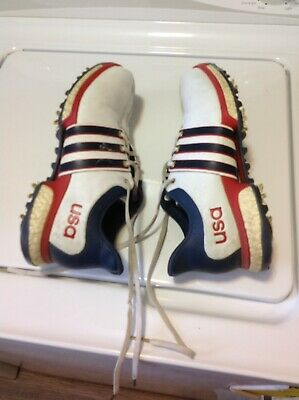 Adidas Tour 360 Boost USA Golf Shoes Men's Size 8.5, #F33512  Rio Olympics 2016'
