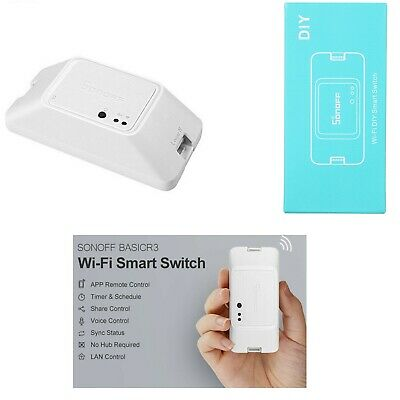 Sonoff Basic R3 Intelligent On / Off Wifi Interruttore Timer Luce Supporto K2Y8