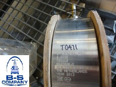 "Wafer Check valve MERWEDE 783119 4"" 150 Raised Face Flanged DUPLEX 31803"