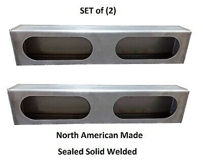 SET OF 2  Double Oval, Steel, Tail Light Box for Wrecker, Truck Bodies, Trailers