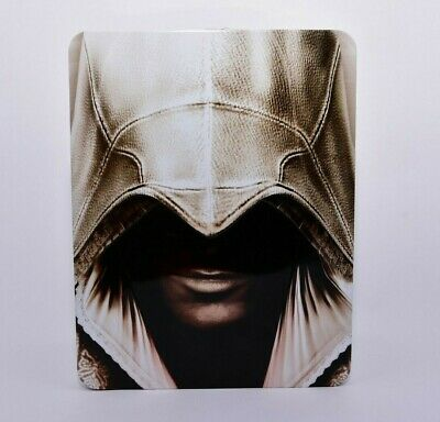 Assassin's Creed II Master's Assassin Edition Box/Tin Figure and Extras No Game