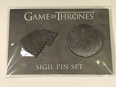 GAME OF THRONES New * Targaryen Sigil Magnet * 2 25