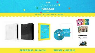 Bts Summer Package 2018 Photobook + Guidebook + 7 Mini Posters