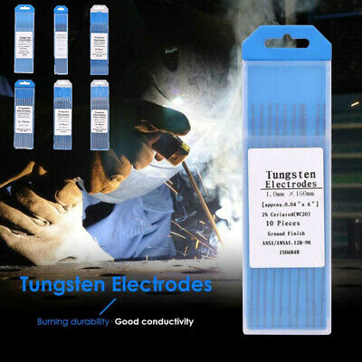 Workshop Welding electrodes TIG Grey Ceriated tungsten Aluminum Welding