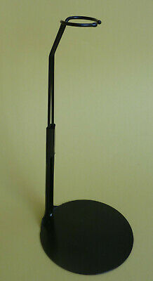 """Doll Stand, #2275 BLACK for slim waist, 11 1/2""""- 12 1/2"""" dolls, LOT of 6 stands"""