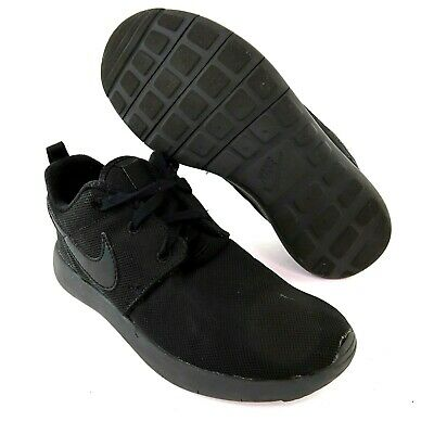 hot sales 3869a 44cfb NIKE ROSHE ONE Kids Shoes - All Black - BOYS Size 3 - $40.00 ...