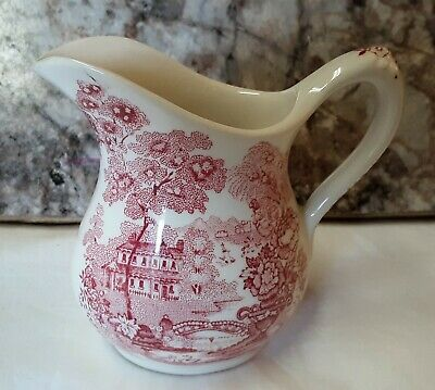 Vintage Royal Staffordshire Tonquin Creamer by AJ Wilkinson LTD Burslem,England