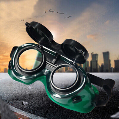 Safety Lenses Welding Glasses Goggles Flip-Up Two Layers Brazing Eyes Protection