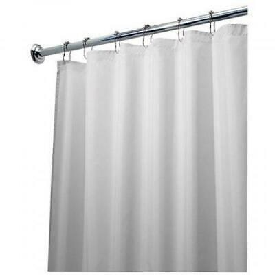72-Inch by 84-Inch Black and Gray NEW InterDesign Leaves Long Shower Curtain