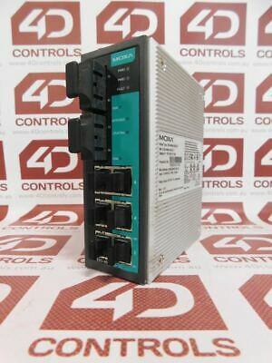 Moxa EDS-408A-SS-SC-T Managed Ethernet Switch - Used