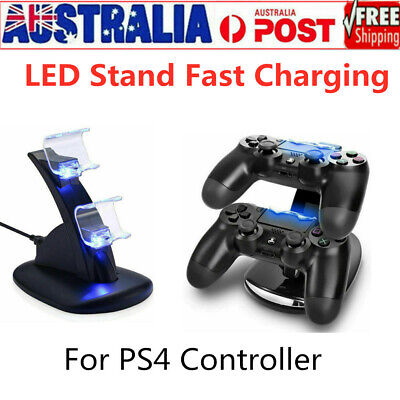 PS4 Stand Fast Charging - LED Charger Dock Station For PlayStation 4 Controller