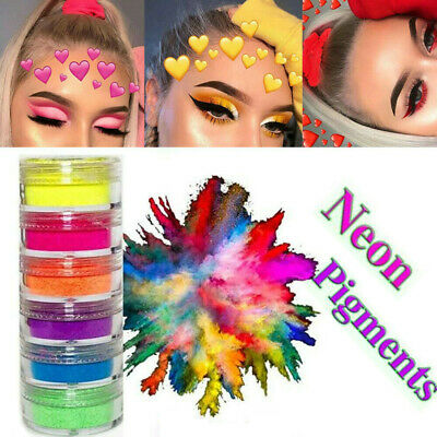 Shimmer Waterproof Matte Eyeshadow Eyeshadow Pigment Nail Powder Neon Powder DIY