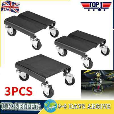 3Pc Tire Car Wheel Dolly Auto Repair Snowmobile Moving Dollies 1500lbs Set HOT