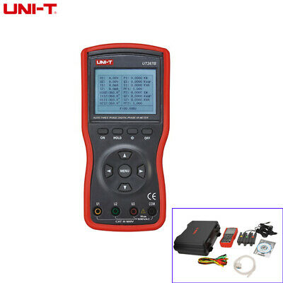 UNI-T UT267B Intelligent 3 Phase Clamp Voltammeter VA Voltammeter Power Meter
