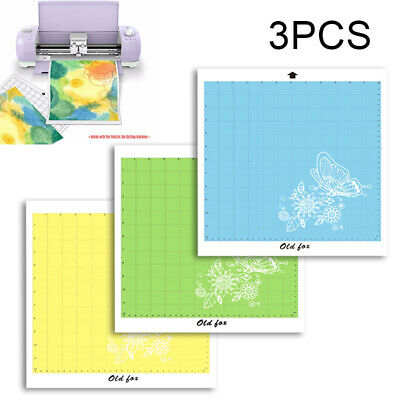 "Fit For Cricut Tools Accessories Variety 3 Pack Adhesive Cutting Mat 12"" x 12"""