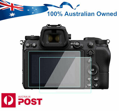 9H Tempered Glass Screen Protector for Nikon Z6 Z7 Mirrorless Camera AUS seller