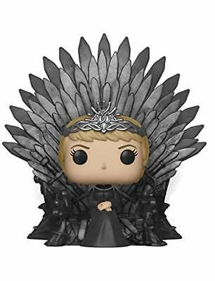 Funko pop deluxe game of thrones s10 cersei lannister sitting on iron (BG+)