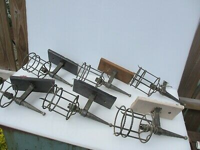 Wrought Iron Wall Lights Sconces Lamps Gothic Medieval Style Job Lot Bulk x6