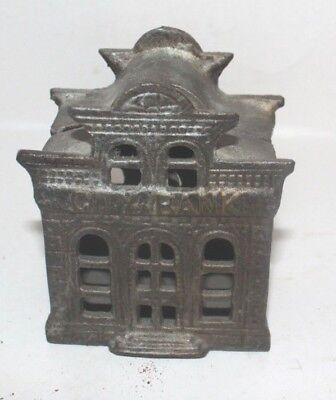 Vintage Cast Iron City Bank with Director's Room