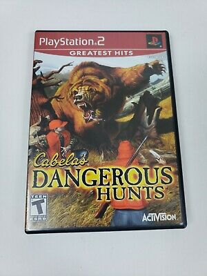 CABELA'S HUNTING Dangerous hunts Hunter PLAYSTATION 2  PS2 Greatest Hits