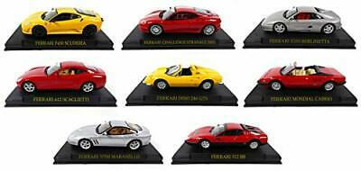 Opo 10 set of 8 ferrari cars dino 246gts + 575m maranello 512bb f355 +612 (EVx)